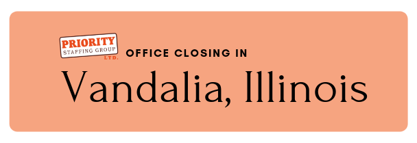 Vandalia Office Closing